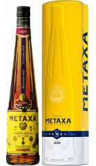 "Бренди ""Metaxa"" 5*, gift tube, 0.7 л"