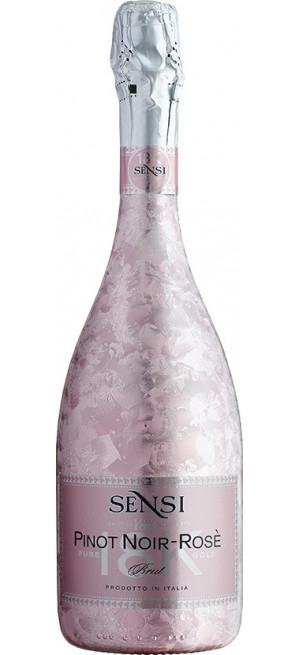 """Игристое вино Sensi, """"18К"""" Pinot Noir Rose, 0.75 л"""