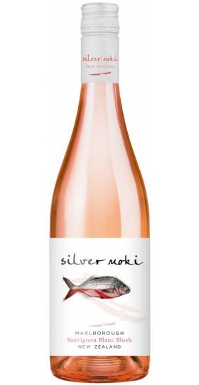 """Вино """"Silver Moki"""" Sauvignon Blanc Blush, 0.75 л"""