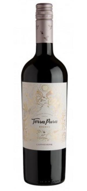 Вино Terra Pura Reserva Carmenere, 2018, 0.75 л