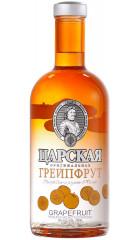 """Водка """"Царская"""" Оригинальная Грейпфрут, 0.7 л"""