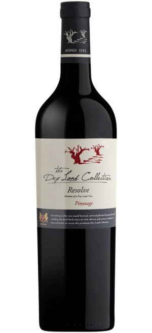 """Вино The Dry Land Collection, """"Resolve"""" Pinotage, 0.75 л"""