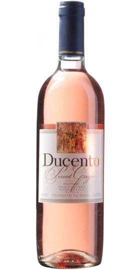 """Вино """"Ducento"""" Pinot Grigio Rose delle Venezie IGT, 2018, 0.75 л"""