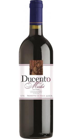 "Вино ""Ducento"" Merlot delle Venezie IGT, 2017, 0.75 л"