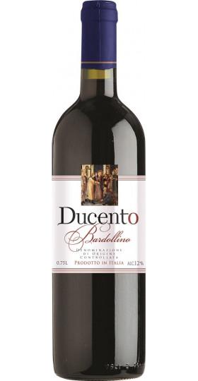 "Вино ""Ducento"" Bardolino DOC, 2018, 0.75 л"