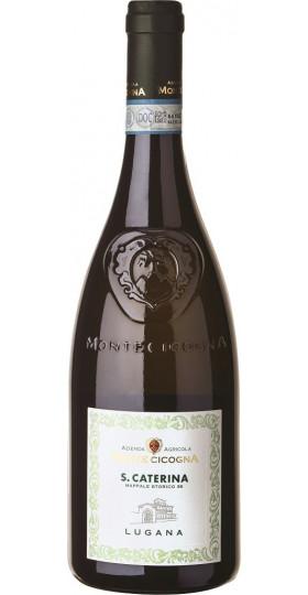 """Вино Monte Cicogna, """"S. Caterina"""" Lugana DOC, 2018, 0.75 л"""