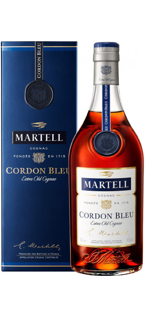 "Коньяк Martell ""Cordon Bleu"", with box, 0.7 л"