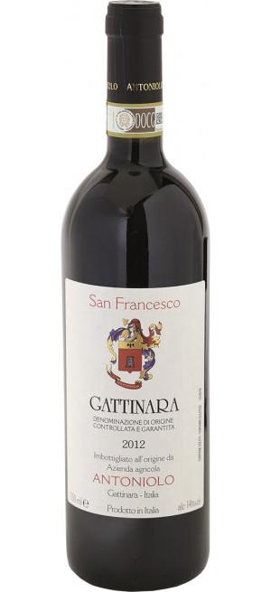 "Вино Antoniolo, ""San Francesco"" Gattinara DOCG, 2012, 0.75 л"