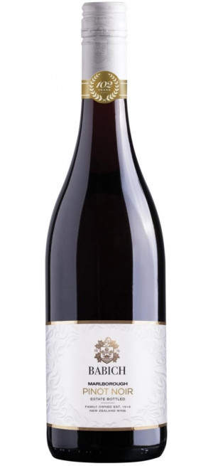 Вино Babich Wines, Pinot Noir, Marlborough, 2018, 0.75 л