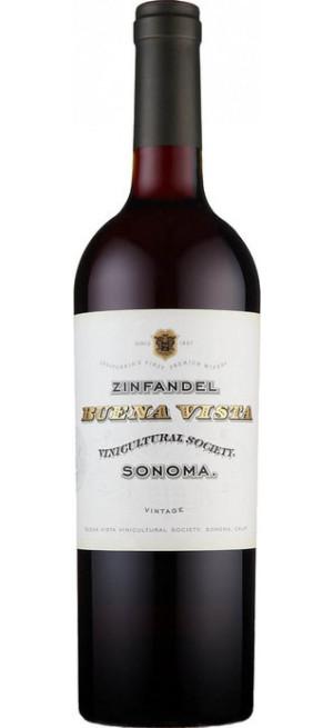 Вино Buena Vista, Sonoma Zinfandel, 2018, 0.75 л