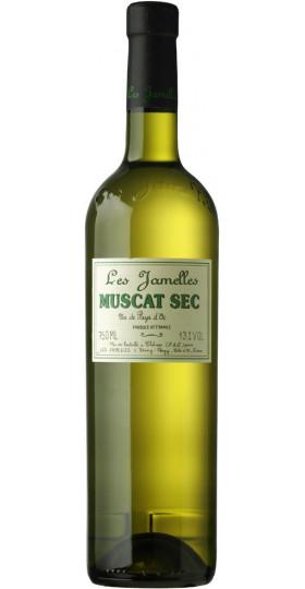 Вино Les Jamelles, Muscat Sec, Pays d'Oc IGP, 2019, 0.75 л