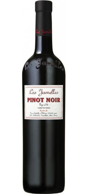 Вино Les Jamelles, Pinot Noir, Pays d'Oc IGP, 2020, 0.75 л
