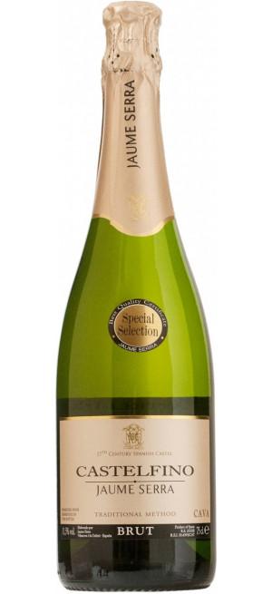 "Игристое вино Jaume Serra, ""Castelfino"" Brut, Cava DO, 0.75 л"