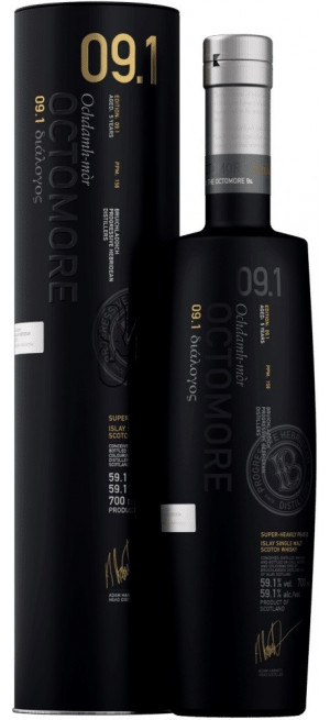 "Виски Bruichladdich, ""Octomore"" 09.1 Masterclass, in tube, 0.7 л"