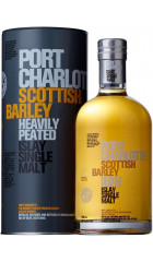"Виски Bruichladdich, ""Port Charlotte"" Scottish Barley, in tube, 0.7 л"