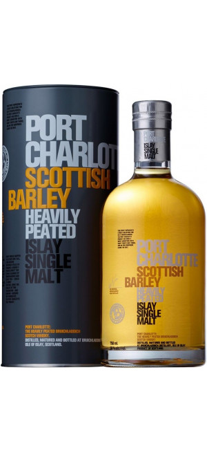 "Виски Bruichladdich, ""Port Charlotte"" Scottish Barley, in tube, 0.7 л"