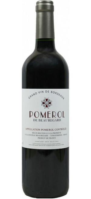 """Вино """"Pomerol de Beauregard"""" AOC, 2014, 0.75 л"""