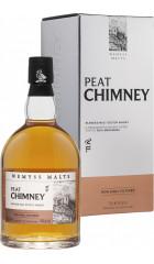 """Виски """"Peat Chimney"""" Blended Malt, gift box, 0.7 л"""