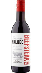 "Вино ""Beefsteak Club"" The Mini Malbec, 2019, 187 мл"