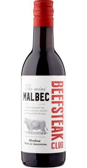 "Вино ""Beefsteak Club"" The Mini Malbec, 2019, 187 мл"