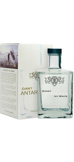 """Коньяк Godet, """"Antarctica"""" Icy White, gift box, 0.5 л"""