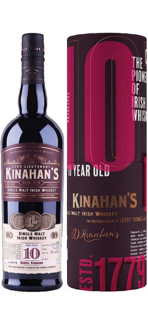 "Виски ""Kinahan's"" Single Malt 10 Years, in tube, 0.7 л"