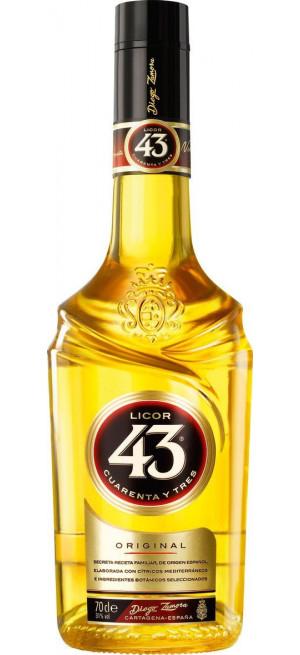 """Ликер """"Licor 43"""" Cuarenta Y Tres, 0.7 л"""