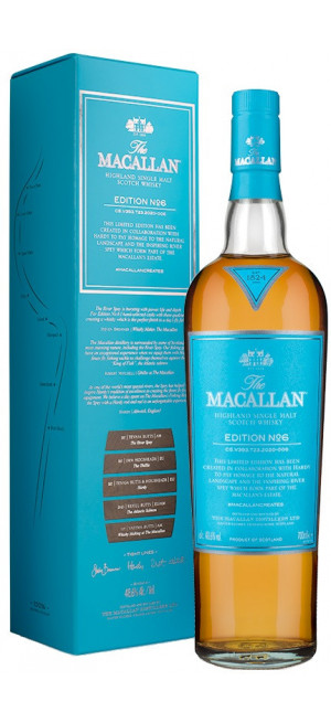 "Виски ""The Macallan"" Edition №6, gift box, 0.7 л"