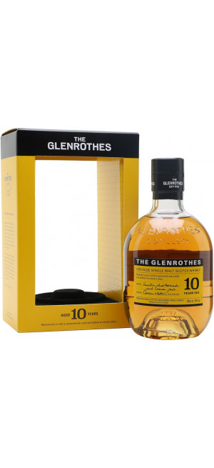 "Виски ""Glenrothes"" 10 Years Old, gift box, 0.7 л"