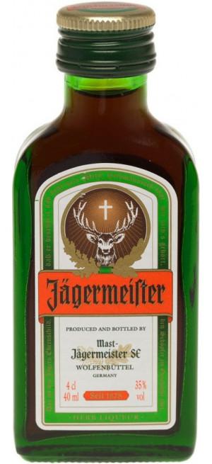 """Ликер """"Jagermeister"""", 40 мл"""