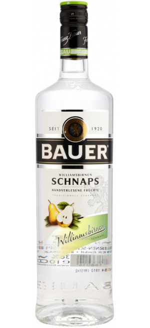"Шнапс ""Bauer"" Williamsbirnen, 0.7 л"