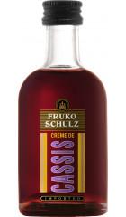 Ликер Fruko Schulz, Creme de Cassis, 50 мл