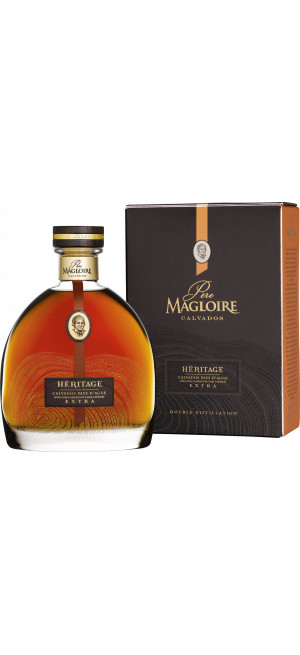 Кальвадос Pere Magloire, Heritage Extra, gift box, 0.7 л