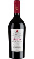 Вино Tenute Poggiocaro, Governo all' Uso Toscano IGT, 0.75 л