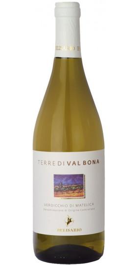"""Вино Belisario, """"Terre di Valbona"""" Verdicchio di Matelica DOC, 0.75 л"""