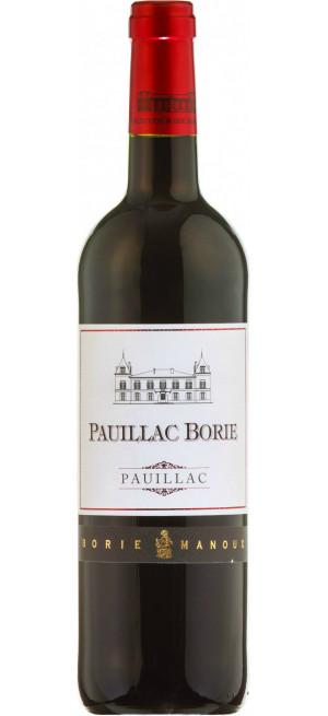 Вино Borie-Manoux Pauillac Borie, 2017, 0.75 л