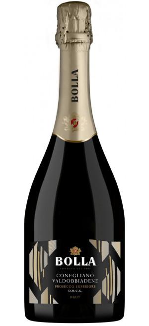 Игристое вино Bolla, Prosecco Superiore, Conegliano Valdobbiadene DOCG, 0.75 л