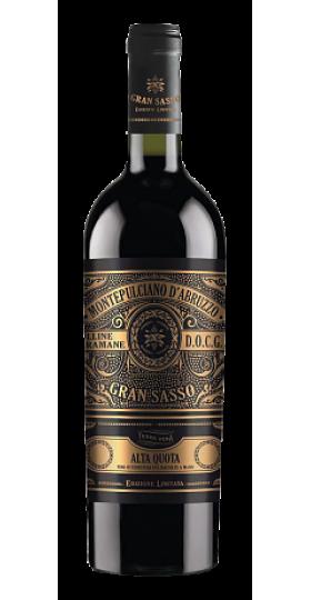 """Вино Gran Sasso, """"Alta Quota"""" Montepulciano d'Abruzzo, Colline Teramane DOCG, 0.75 л"""