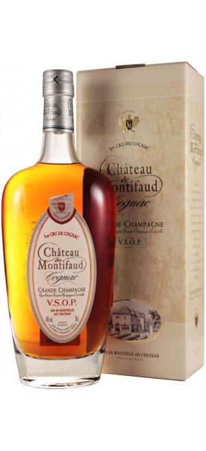 "Коньяк ""Chateau de Montifaud"" V.S.O.P., Grande Champagne AOC, gift box, 0.7 л"