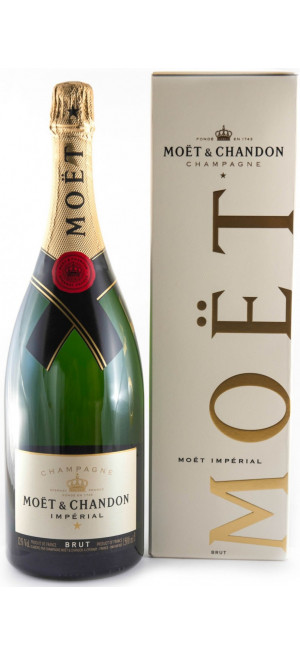 "Шампанское Moet & Chandon, Brut ""Imperial"", gift box, 0.75 л"