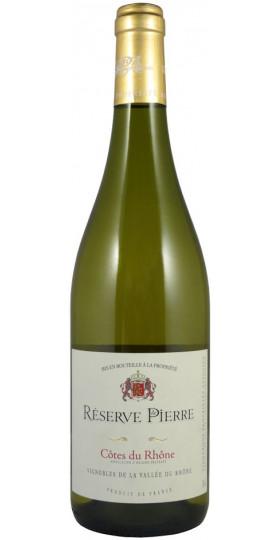 """Вино """"Reserve de Pierre"""", Cotes du Rhone AOP Blanc, 0,75 л"""
