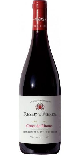 """Вино """"Reserve de Pierre"""", Cotes du Rhone AOP Rouge, 0.75 л"""
