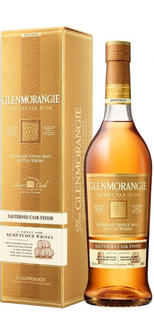 "Виски Glenmorangie, ""The Nectar d'Or"", in gift box, 0.7 л"