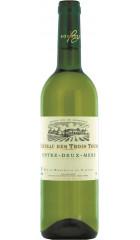 """Вино """"Chateau des Trois Tours"""" Blanc, Entre-Deux-Mers AOC, 0.75 л"""