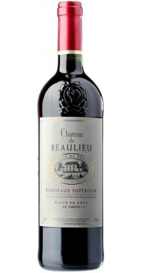 Вино Chateau de Beaulieu, Bordeaux Superieur AOC, 0.75 л