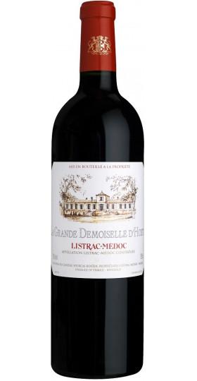 "Вино ""La Grande Demoiselle d'Hosten"", Listrac-Medoc AOC, 0.75 л"