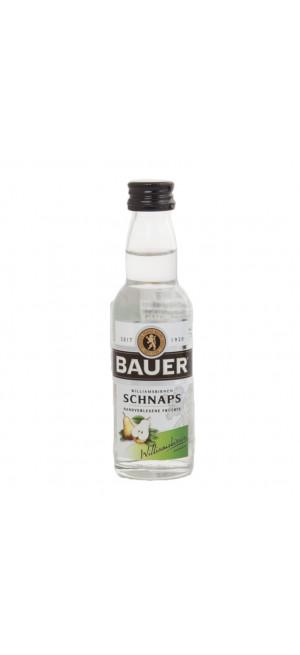"Шнапс ""Bauer"" Williamsbirnen, 0.04 л"