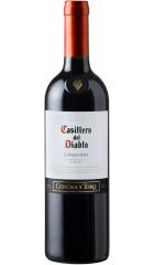 """Вино """"Casillero del Diablo"""" Carmenere Reserva, 2018, 0.75 л"""