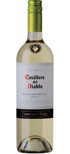 """Вино """"Casillero del Diablo"""" Sauvignon Blanc Reserva, 2018, 0.75 л"""