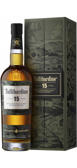"Виски ""Tullibardine"" 15 Years Old, gift box, 0.7 л"